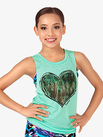 Child Twist Back Tank Top
