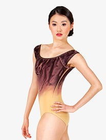 Adult Painted Cap Sleeve Leotard