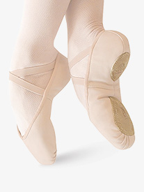 Womens Ultimate Canvas Split-Sole Ballet Shoes