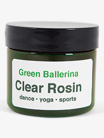 Green Ballerina Clear Nontoxic Dance Rosin