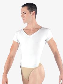 Mens Ivan V-Neck Leotard with Built-In Dance Belt