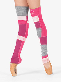 Adult Idra Skinny Full Length Multi Color Legwarmers