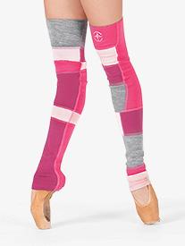 Adult Idra Skinny Full Length Multi Color Legwarmers