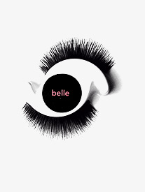 Girls Belle Mini Fake Eyelashes