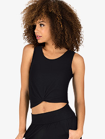 Front Knot Crop Top