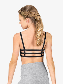 Womens Caged Back Sports Bra