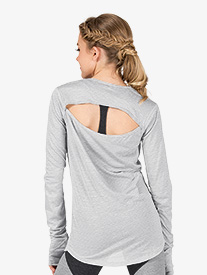 Womens Wave Fitness Long Sleeve Top