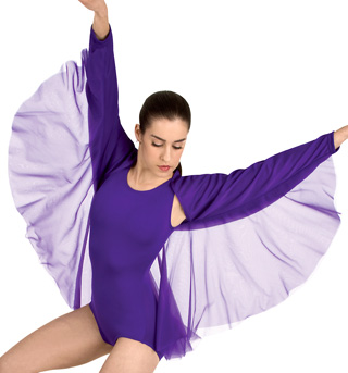 Girls Worship Angel Wing Shrug - Style No 0505