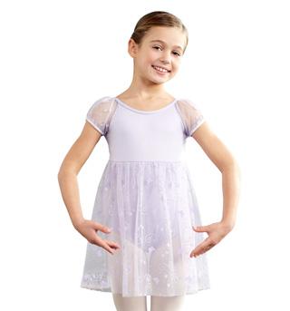 Child Empire Puff Sleeve Dress - Style No 10126C