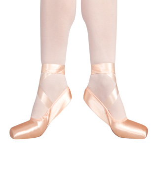 Adult Broad Demipointe Shoes - Style No 1118