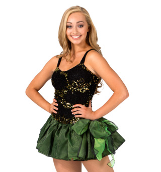 Adult Tank Sequin Tutu Dress - Style No 117717Ax