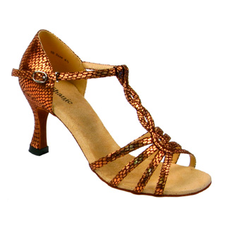 Ladies Regular Series Latin/Rhythm Ballroom Shoe - Style No 12029