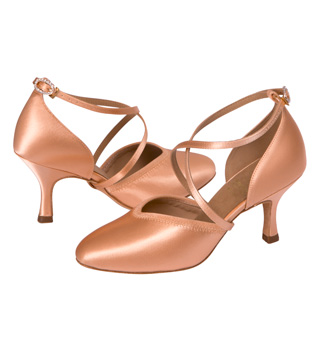 Ladies Smooth Ballroom Shoes - Style No 1207