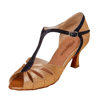 Ladies Latin/Rhythm Ballroom Shoe - Style No 12075