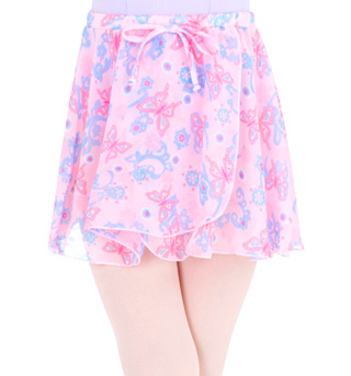 Child Printed Pull On Skirt - Style No 1291C