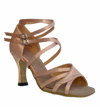 Ladies Latin/Rhythm- Classic Series Ballroom Shoes - Style No 1662B