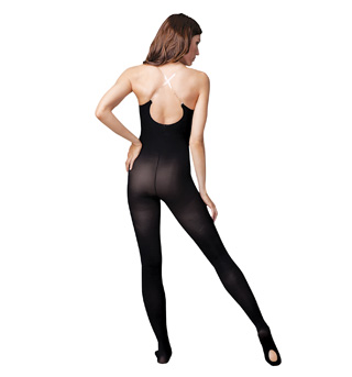Adult Clear Strap Body Tights - Style No 1811