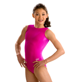 Child Basic Velvet Tank Leotard - Style No 2011C
