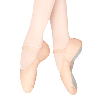 Girls Gracie Full Sole Ballet Slippers - Style No 207C