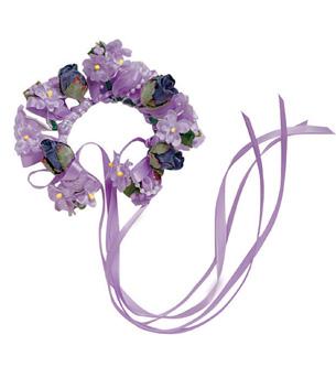 Floral Bun Wreaths - Style No 2390x