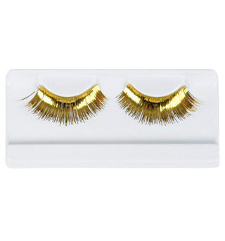 Gold Stage Eyelashes - Style No 2483B