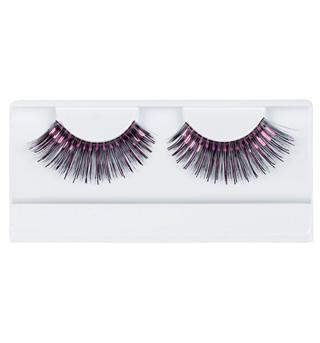 Black & Hot Pink Stage Eyelashes - Style No 2483Fx