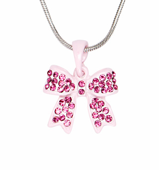 Ribbon Bow Necklace - Style No 2770