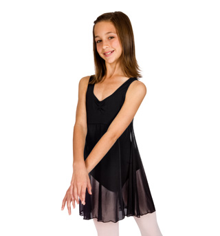 Child Empire Tank Dress w/Pinch Front - Style No 3968C