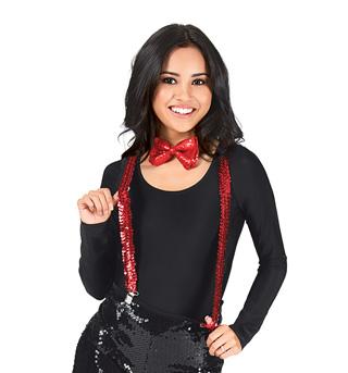 Sequin Suspenders - Style No 4640