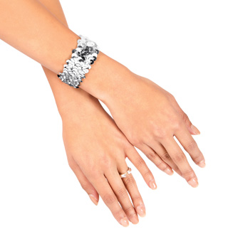 Adult Sequin Cuffs - Style No 4648