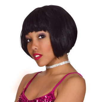 Black Super Model Wig  - Style No 50425