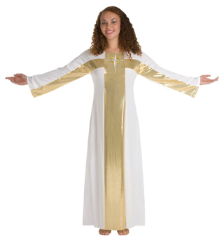Worship Long Robe Plus Sizes - Style No 513XX