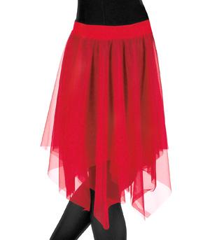 Adult Plus Size Double Layer Chiffon Skirt - Style No 539XX