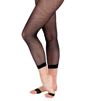 Adult Fishnet Capri Tights - Style No 7877BLK