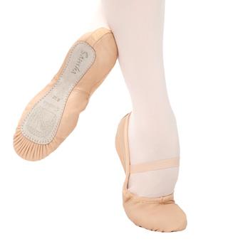 Adult Nijinsky Leather Full Sole Ballet Slipper - Style No 7L