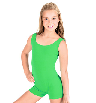 Child Tank Shorty Unitard - Style No 87120C