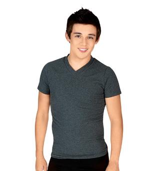 Mens Short Sleeve V-Neck T-Shirt - Style No AB32