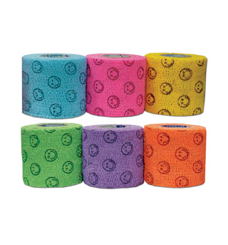 Smiley Face Toe Tape - Style No AND5200