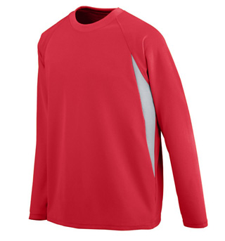 Adult Plus Size Unisex Mesh Long Sleeve Jersey - Style No AUG4620P