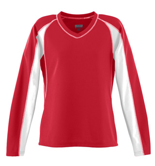 Ladies Plus Size Mesh Charger Jersey - Style No AUG4650P