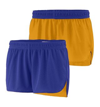 Ladies Plus Size Reversible Shorts - Style No AUG985P