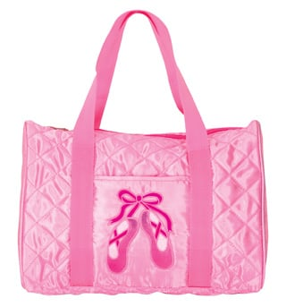 Quilted En Pointe Dance Bag in Pink - Style No B951