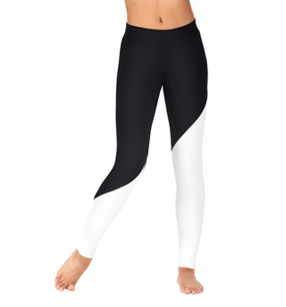 Adult Color Block Leggings - Style No BF203