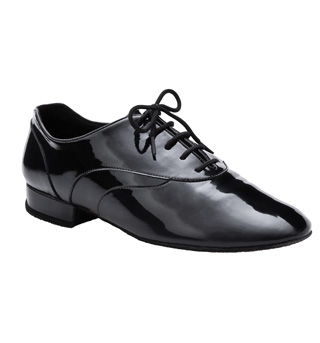 Men's Patent Standard Oxford Ballroom Shoe - Style No BR02P