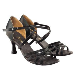 Women Strappy Ballroom Shoe - Style No BR07S