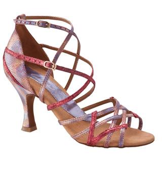"Ladies ""Valentina"" 3"" Latin/Rhythm Ballroom Shoe - Style No BR179"