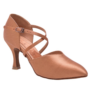 "Ladies ""Jaimee"" 2.5"" Smooth Ballroom Shoe - Style No BR231"