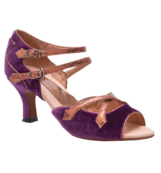 "Ladies ""Constance"" 2"" Latin/Rhythm Ballroom Shoe - Style No BR421"