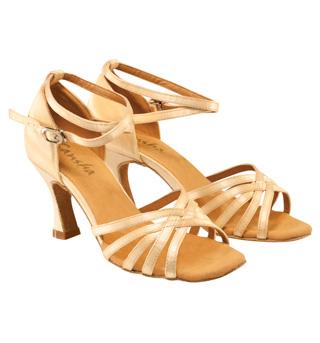 Women Strappy Ballroom Shoe - Style No BRE16
