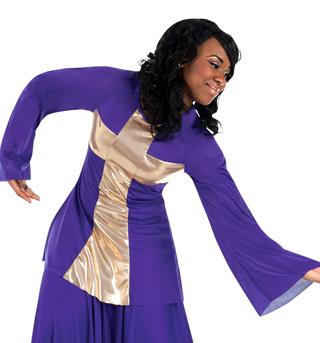 Women's Plus Size Praise Wear Cross Pullover - Style No BW621XX